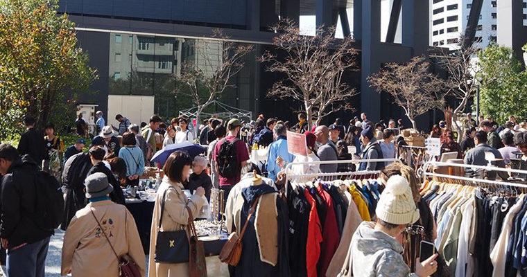 外国人観光客にも人気!渋谷蚤の市 Shibuya Flea market