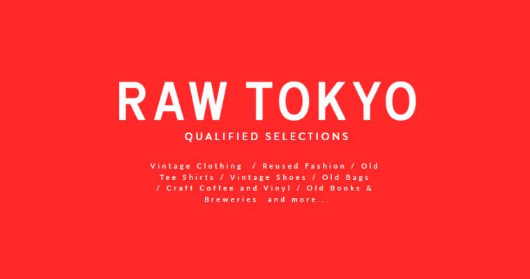 青山で大人気だったフリーマーケットがパワーアップして復活!「RAW TOKYO」