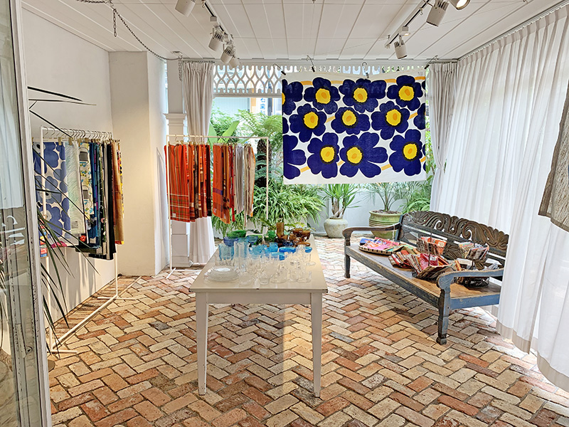 ハウス オブ ロータス青山店「Nordic Market~ 北欧ヴィンテージのグラスとテキスタイル ~」SALEも開催中!